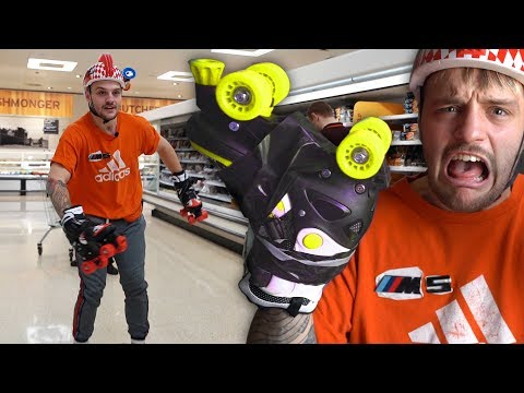 I Replaced My Hands & Feet With Roller Skates For The Day..