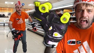 Video I Replaced My Hands & Feet With Roller Skates For The Day.. download MP3, 3GP, MP4, WEBM, AVI, FLV Oktober 2018