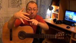 Простой перебор для гитары 3. pimami