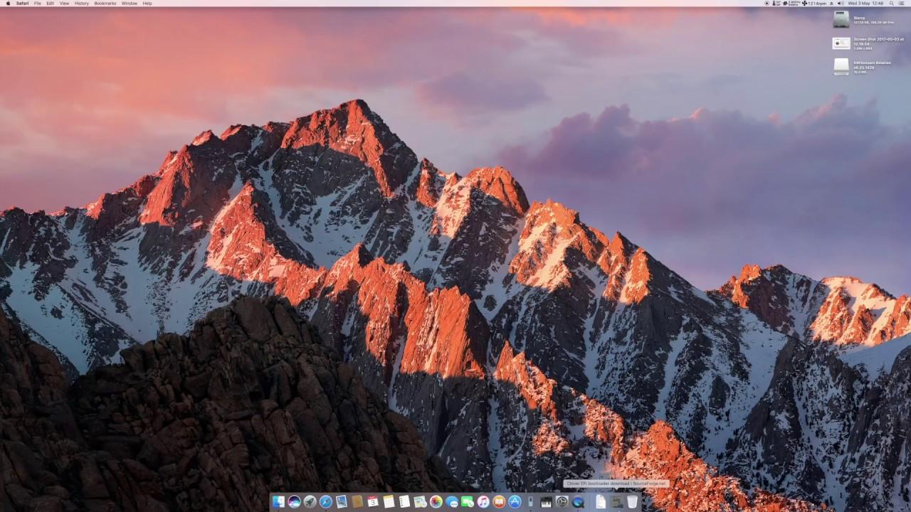 Sierra Hackintosh Update - nVidia GTX 1060 + I7 4770K by wallshadow211