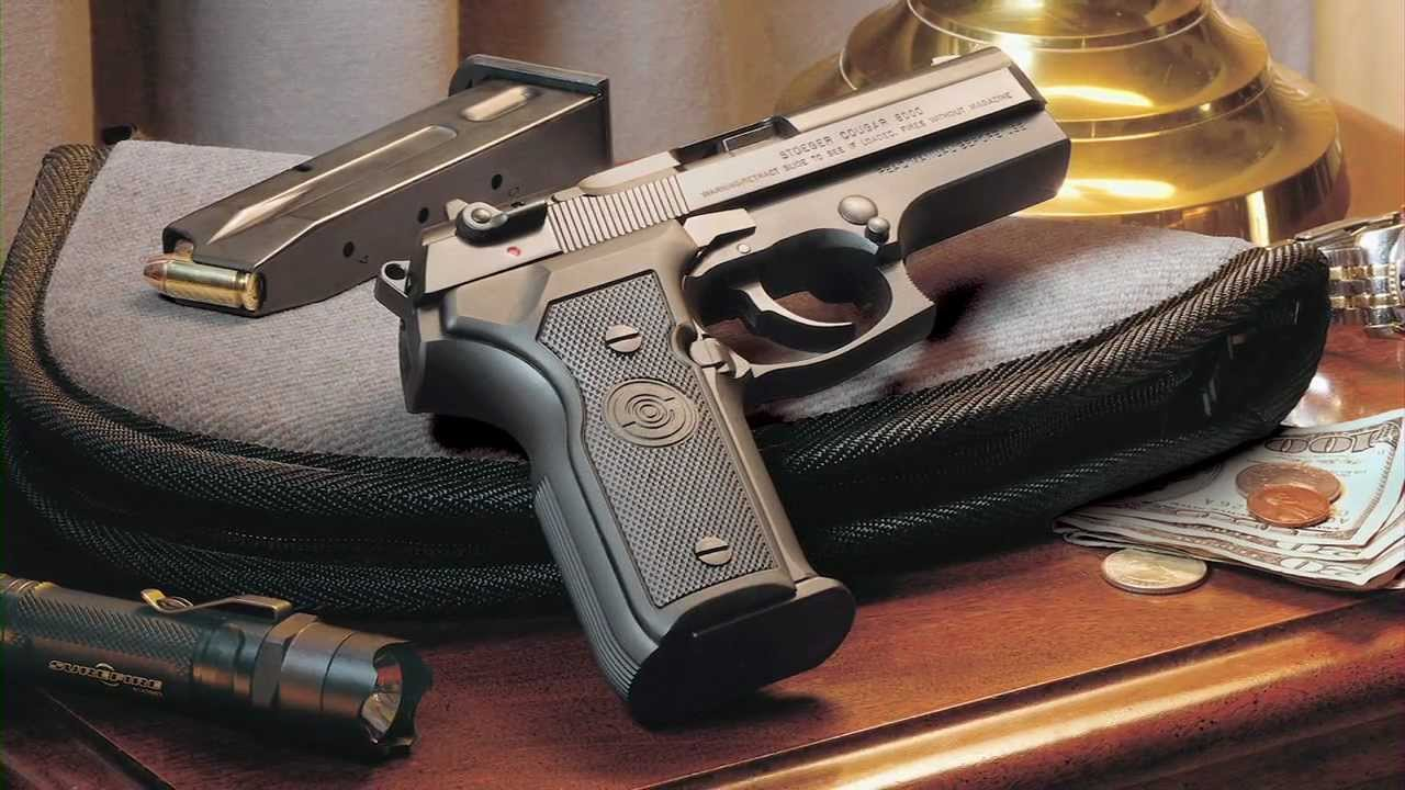 The Stoeger Cougar Semi-Automatic Pistol