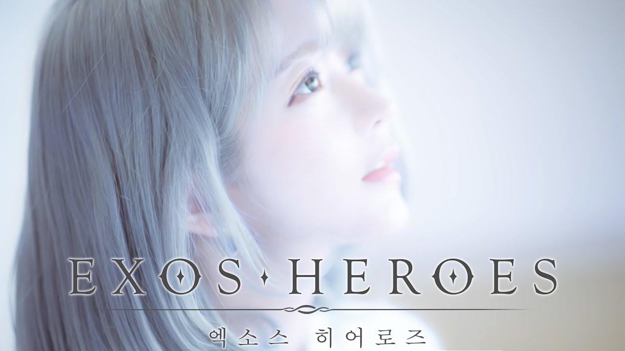 [CM](original) EXOS HEROES (엑소스 히어로즈) -  氷涙 Frozen Tears (얼음눈물) 공식 PV /ost - yurisa