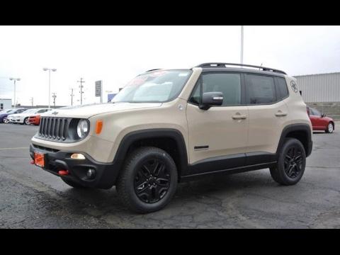 2017 jeep renegade desert hawk 4x4 for sale dayton troy piqua sidney ohio 27835t youtube. Black Bedroom Furniture Sets. Home Design Ideas