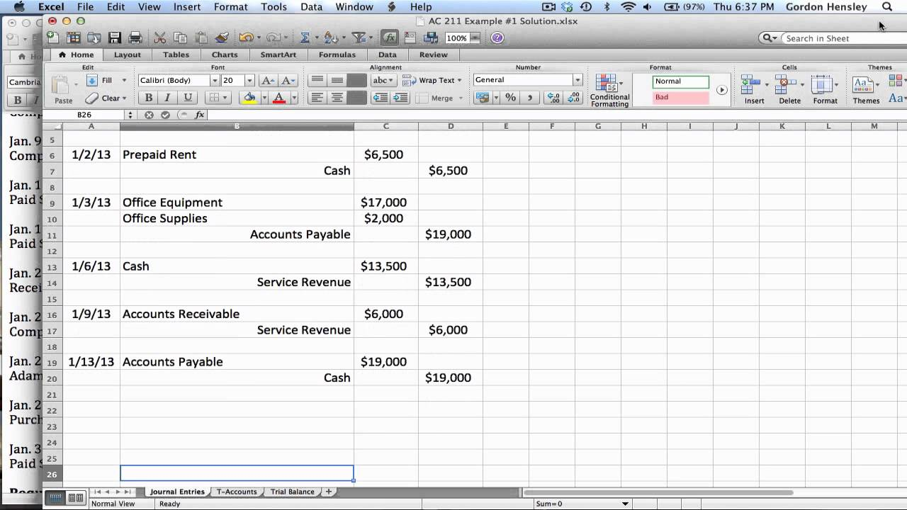 how to find trial balance
