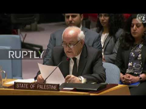 UN: Israeli and Palestinian ambassadors go head-to-head at UNSC vote