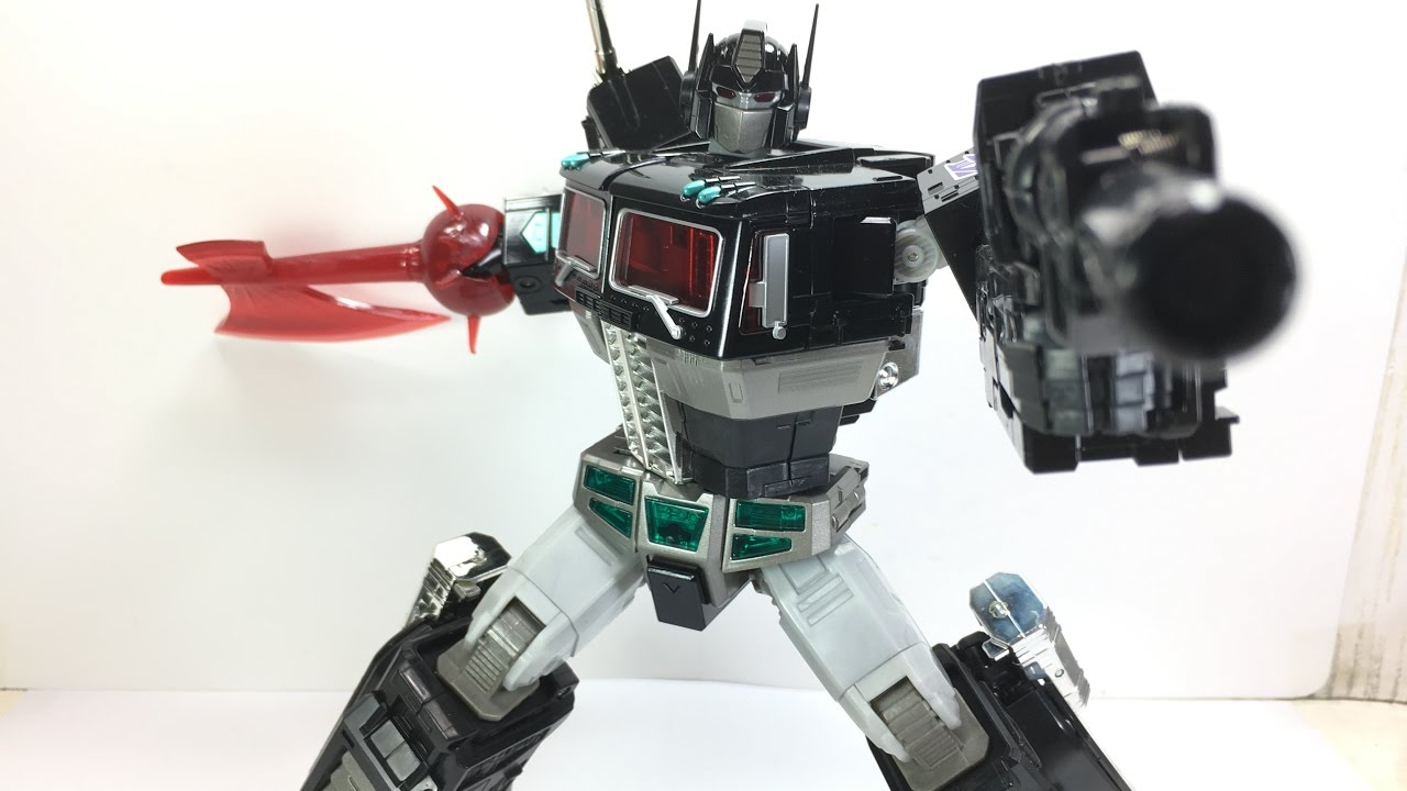 Transformers Masterpiece MP 10B Black Convoy Takara