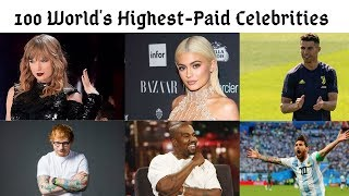 100 Highest Paid Celebrities In The World Power List 2012