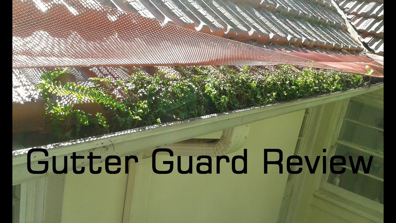 Gutter Guard Review Youtube