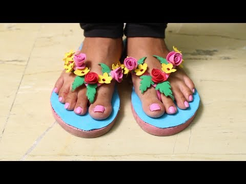 How To Decorate  Flip Flops DIY Tutorial – DIY Crafts