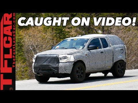 2021 Ford Bronco Prototype Caught On Video In Colorado