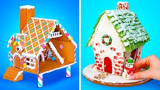 2 Gingerbread Houses || Awesome Christmas Treat For You And Your Pet Hamster!