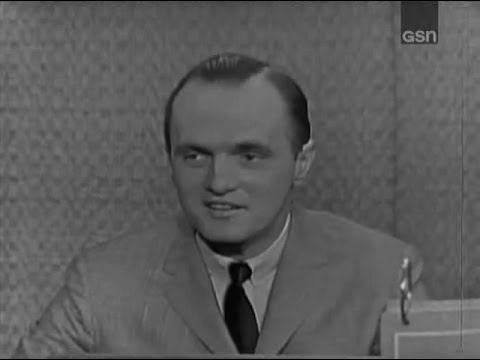 What's My Line? - Goodson & Todman; Bob Newhart; Buddy Hackett [panel] (Feb 4, 1962)