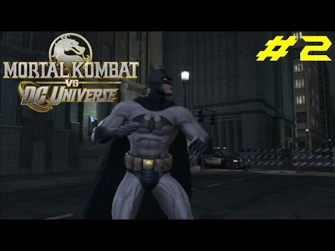 Mortal Kombat vs DC Universe PS3 Gameplay #2: Batman