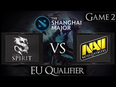 Dota 2 Team Spirit vs Na'Vi | Shanghai Major 2016