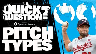 What is the diffęrence between pitches? And why are there so many? | Quick Question (MLB Originals)