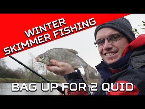Winter Skimmer Feeder Fishing - With £2 Worth Of Bait!