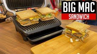 BIG MAC Sandwich im OPTIGRILL