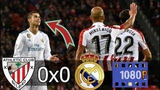 Athletic Bilbao 0 x 0 Real Madrid HD QUE JOGO- Melhores Momentos    La Liga 02-12-2017