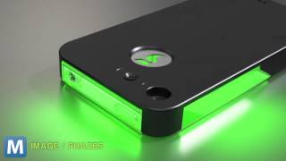 Repeat youtube video This iPhone Case Gives Alerts With an LED Light Show | Mashable