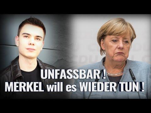 UNFASSBAR! MERKEL will es WIEDER TUN!