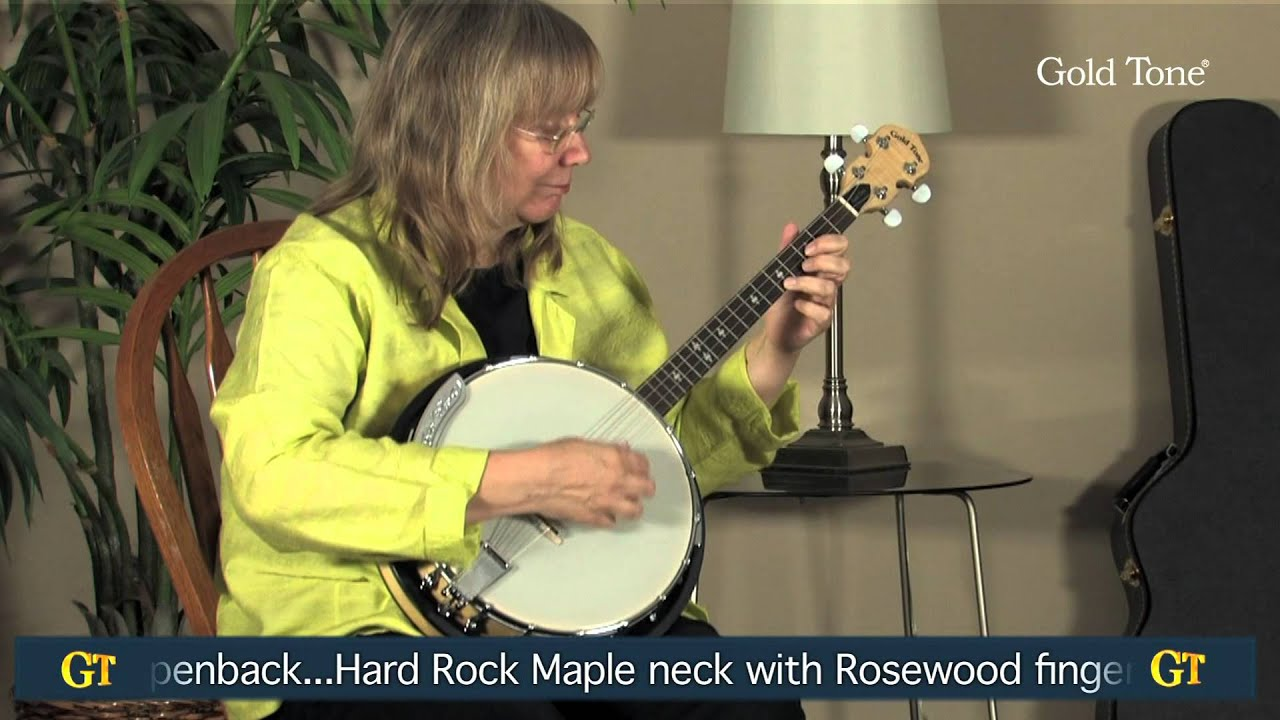 Cripple Creek Irish Tenor Banjo with Resonator Natural