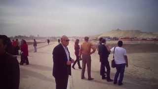 قناة السويس الجديدة مصرك عمروعزت وزير التعليم العالى الأسبق فى زيارة للقناة
