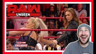 Reaction | RONDA ROUSEY Handles DANA BROOKE After WWE RAW Ends / Off Air / Unseen | March 19, 2018
