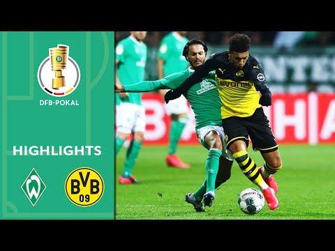 Werder Bremen vs. Borussia Dortmund 3-2 | Highlights | DFB-Pokal 2019/20 | Round of 16
