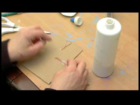 How To Make A Personalized Picture Frame Hanging Strings For