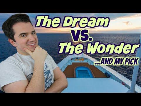 Disney Dream 🚢 Vs  Disney Wonder 🛳
