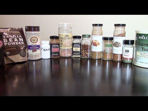 SPICES!! HEALTHY FOOD = BLAND? NO!!