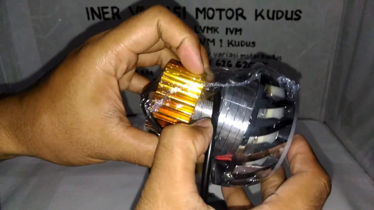 Lampu Proji Led Ac Dc 3 5 Inch 3 Mode Projie P8 Projector Iner