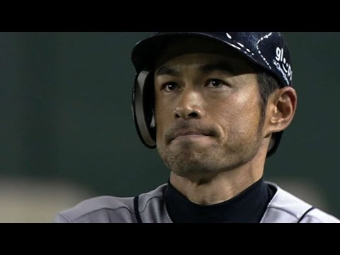 SEA@OAK: Ichiro matches Mariners' Opening Day record