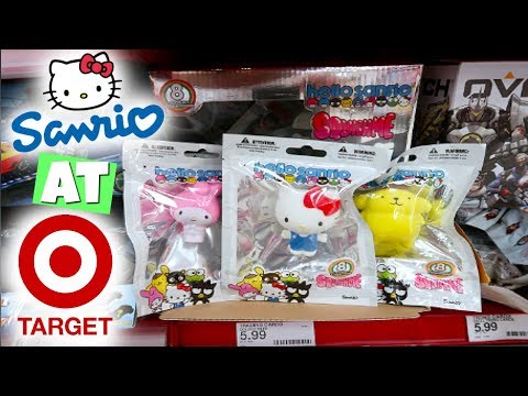 LICENSED SANRIO HELLO KITTY SQUISHIES AT TARGET!