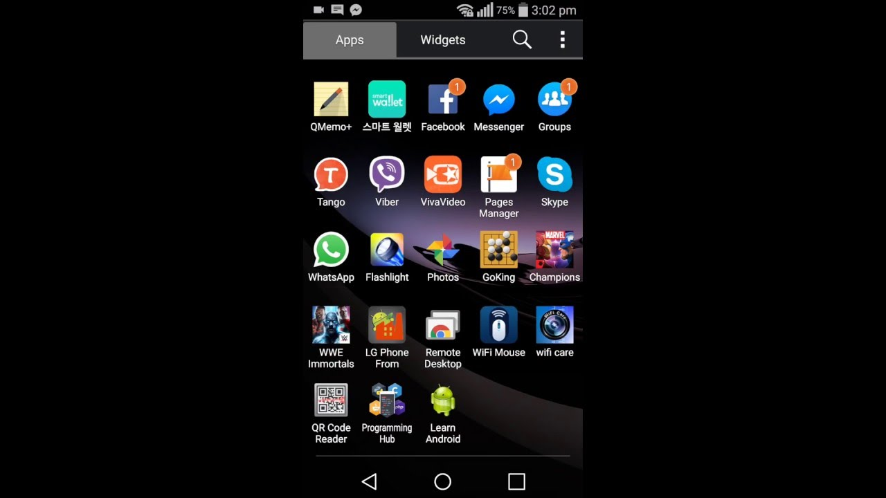 Fix & delete all Korea apps from LG G Flex 2 F510L | xSolution