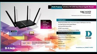 dIR-825 Settings as Access Point and Wi-Fi Client