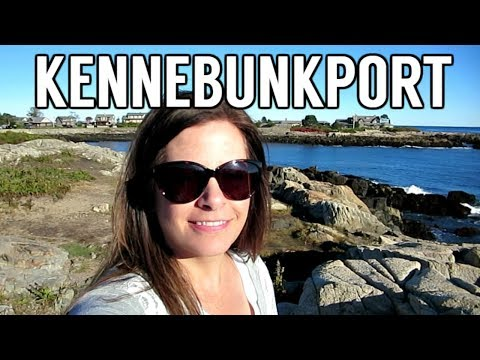 Kennebunkport Maine Travel Vlog