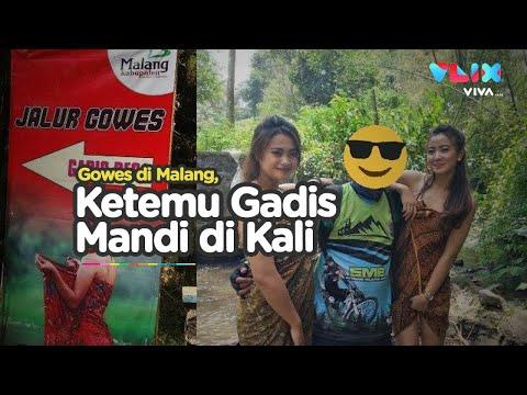 Sensasi Sepeda di Malang, Gowes Ketemu Gadis Desa Lagi Mandi