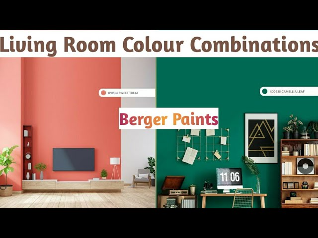 Mocha Sofa Living Room Ideas, Berger Paints Colour Combinations For Living Room Living Room Color Ideas Berger Paint Charts Youtube