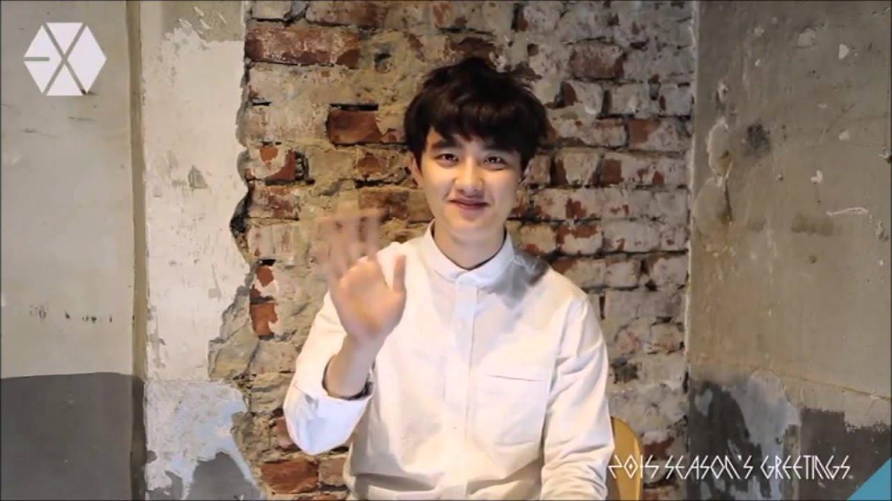 Cut 141226 do do kyungsoo exo 2015 seasons greeting making dvd cut 141226 do do kyungsoo exo 2015 seasons greeting making dvd global china versions youtube m4hsunfo