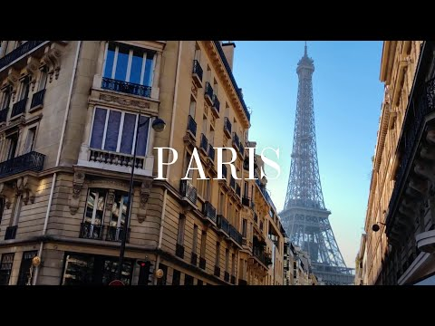 Paris - iPhone X w/ Zhiyun Smooth Q - Cinematic 4K // FREE LUT