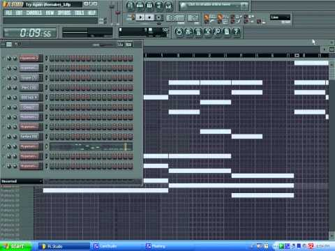 Aaliyah - Try Again (Full Remake) using FL Studio 8