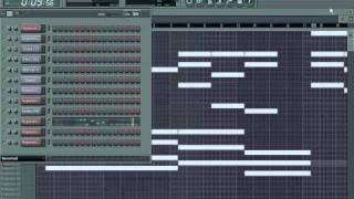 Aaliyah - Try Again (Full Remake) using FL Studio 8