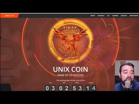 [ICO News] Unix Coin ICO REVIEW   |   UnixCoin ICO