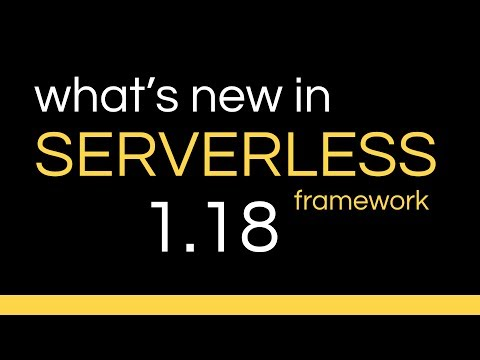 Serverless v1 18 - Request parameter support for Lambda