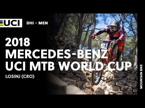 2018 Mercedes-Benz UCI Mountain bike World Cup - Losinj (CRO) / Men DHI