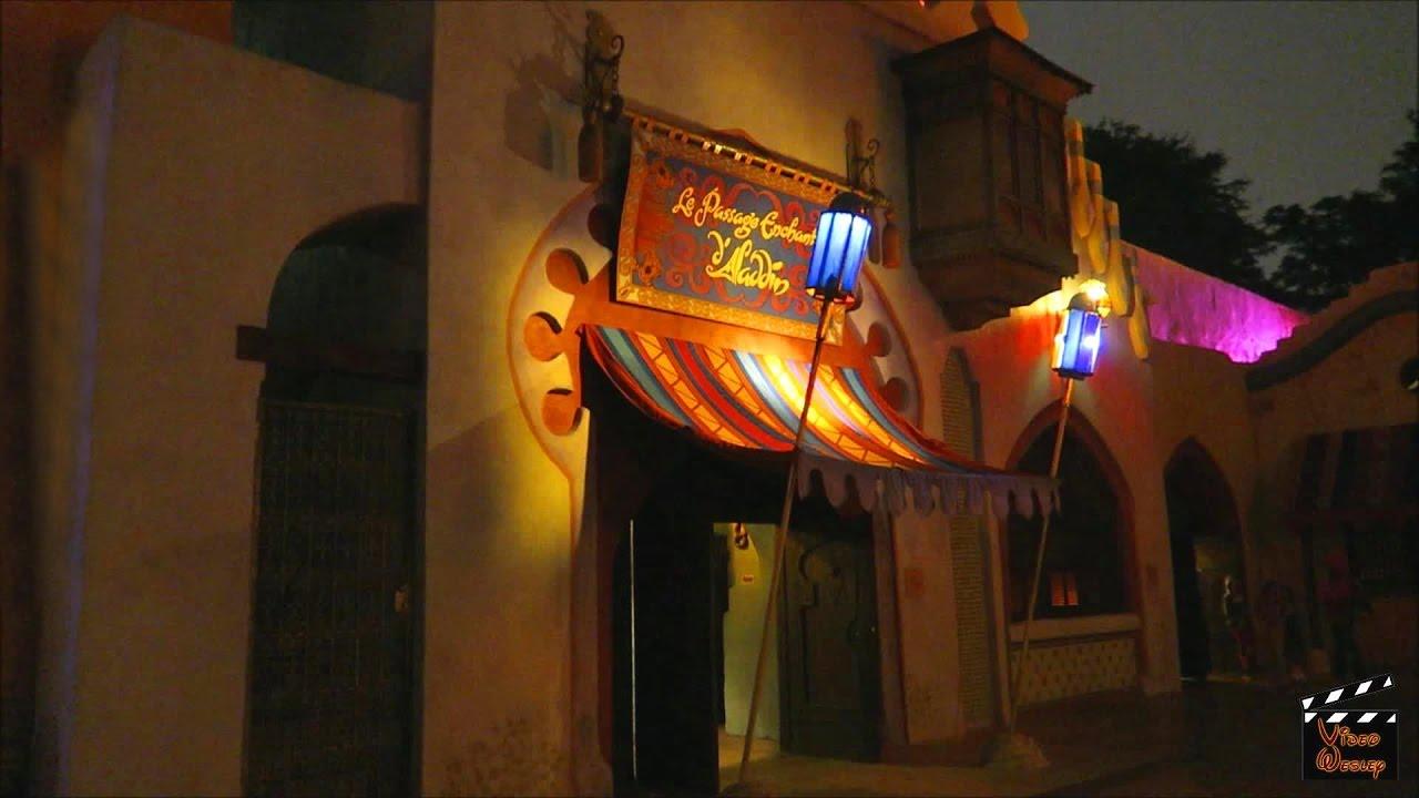 Le passage enchant d 39 aladdin disneyland paris youtube - Le singe d aladdin ...