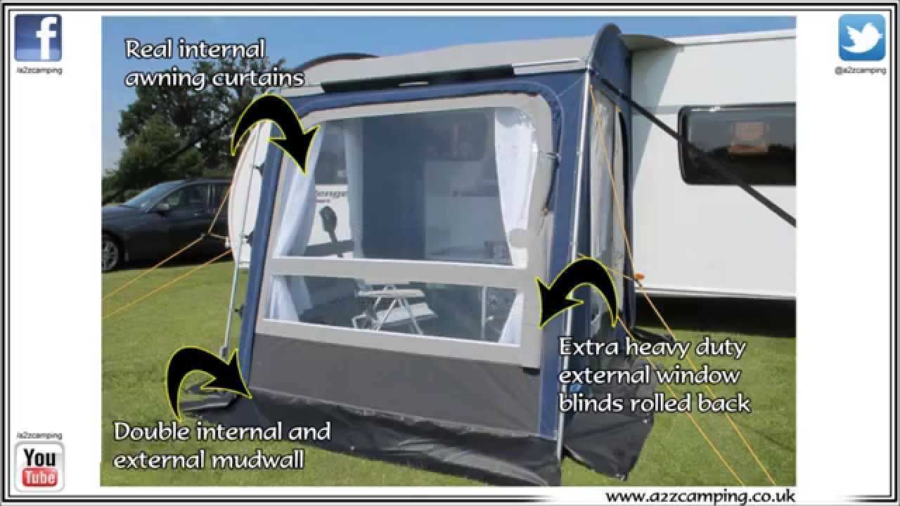 Kampa Rally All Season Touring Caravan Porch Awning Preview