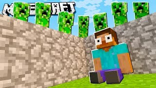 Build to Survive CREEPERS in Minecraft!