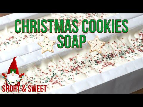 Short & Sweet: Christmas Cookies Soap | MO River Soap